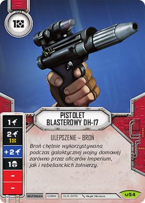 Pistolet Blasterowy DH-17