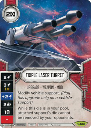 Triple Laser Turret