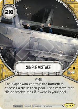 Simple Mistake