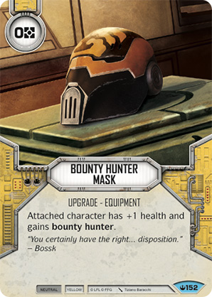 Bounty Hunter Mask