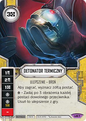 Detonator termiczny